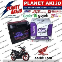 Aki Motor Honda Sonic 150 R GTZ7S GS Y Accu Kering MF