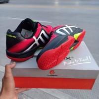 Sepatu Badminton Phoenix Original Drive Black Red