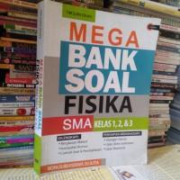 ORIGINAL BUKU MEGA BANK SOAL FISIKA SMA KELAS 1 2 DAN 3