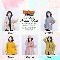 Baju Atasan Jaket Anak Perempuan Thaluna Kids Tunic Hoodie Ariona Mini