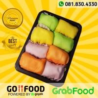 Pancake Durian Medan Premium Mini isi 8 Ekonomis Aroi