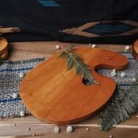 Talenan Unik Kayu High Quality Wood Cutting Board Properti Foto