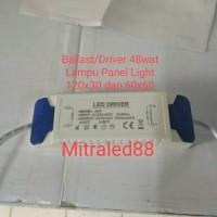 Led Driver/Ballast adaptor Lampu PanelLight 48w/48watt Travo downlight