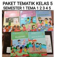 buku paket tematik sd kelas 5 tema 12345 semester 1 kelas 5 sd (5 bk)