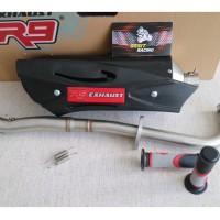 Knalpot Racing Jupiter Z1 - R9 Misano SS Black Series