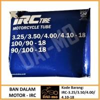 Ban Dalam Motor 325/ 350/ 400/410-18 IRC Ring 18│100/90-18 90/100-18