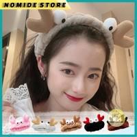 Bandana Facial Bando Rambut Handuk Mandi HairBand Korea Motif KEPITING