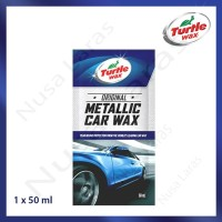 Turtle Wax Metallic Car Wax Sachet 50 ml