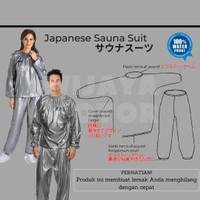 SALE Japanese Baju Sauna Suit Wanita Pria Suite Baju Olahraga Wanita