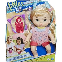 Baby Alive Carry N Go Squad Little Chloe Blonde Hair Doll