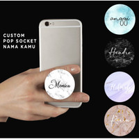 Custom Pop Socket HP Marble | Griptok Marble | Pop Socket Acrylic