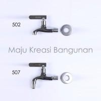 Kran Taman Kuningan SOLIGEN Keran Tembok Air 502 507 Engkol 1/2 Inch