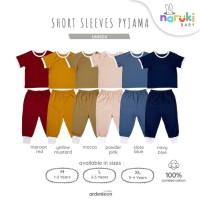 Ardenleon Short Pyjama Set Baby Kids Arden Leon Piyama Anak Bayi