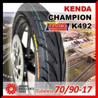 BAN KENDA K492 70/90-17 TUBELESS.BAN SEPEDA MOTOR KENDA RACING