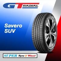 Ban Mobil GT Radial Savero SUV ukuran 225/65r17 Tubeless 225 / 65 R17