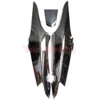 Bodi Samping Supra Fit New 2006 - Pet Honda - Cover Side Body Hitam