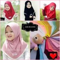 Jilbab Anak Anisa Renda / Kerudung bayi Murah/ Alody's Collection
