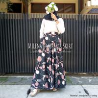 Almira Rok Panjang Payung Muslimah Milena Wolvis Umbrella Skirt