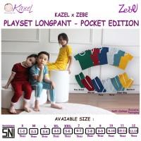 Kazel Playset Longpants Pocket Edition 1-11Thn Navy