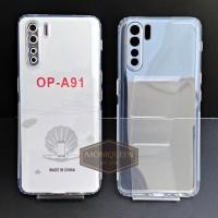 Case Oppo A91 PREMIUM CLEAR SOFT CASE Bening Transparan Casing