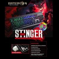 Imperion Keyboard Gaming Stinger KG MM2 Mechanical Membran, RGB