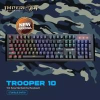 Keyboard Gaming Trooper 10 KG M10F Mechanical