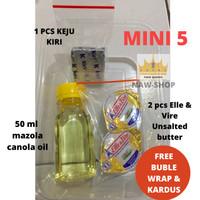 MURAH BANGET ! Paket MPASI mini belcube Anchor EVOO babybel mazola ell - MINI 5