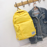 16 Ransel Wanita Backpack Wanita Tas Ransel Wanita Ransel Cewek BD902 - Yellow
