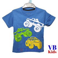 VB210 Mobil Balap Kaos Anak Laki Laki Ukuran 1-10thn - 1 Tahun