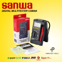 SANWA CD800A DIGITAL MULTIMETER AVOMETER MULTITESTER