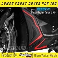Aksesoris Honda Pcx/Lower cover Pcx/Sticker 3D murah/Rubber karet