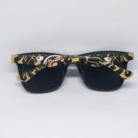 Ready Stock Kacamata Frame Sunglasses Bape Shark Camo A Bathing Ape