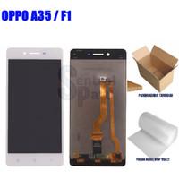 LCD OPPO A35 / F1 / F1F FULLSET OEM CONTRAS MAIN GRADE AAA - Putih
