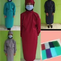 Baju Surgical Gown bahan Drill/jubah/baju Ok