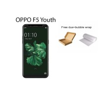 Oppo F5 Youth Tempered Glass Screen Protector Anti Gores