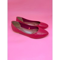 Sepatu Wanita Flat Shoes Pink Kulit Kambing Asli 100% Sepatu Balet