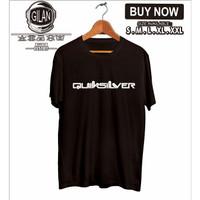 Kaos Baju QUIKSILVER Logo Simpel Kaos Distro Surfing - Gilan Cloth