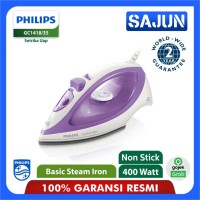 Philips GC1418 Setrika Uap Travel Steam Iron GC1418/35 - Purple