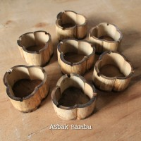 Asbak Rokok Unik Bahan Bambu