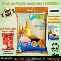 Beras Jasmine Rice Premium Super Leon Pulen dan Wangi ORI Thailand