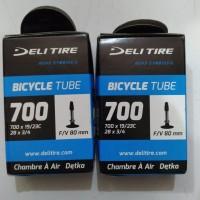 Ban dalam fixie 700 x 19/23C F/V 80mm