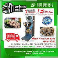 Mesin Cetak Baso Meat Ball Maker MBM-R280 FOMAC