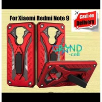 CASE XIAOMI REDMI NOTE 9 STANDING TRANSFORMER CASING ROBOT BACK COVER