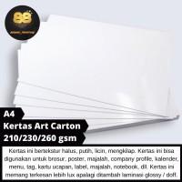 [Bisa Satuan] Kertas Art Carton A4 Premium