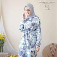 Pajamas Set Celana Muslim BUSUI Friendly Leaf 01
