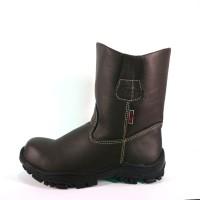 SEPATU SAFETY PROYEK BOOT BERKUALITAS(COKLAT)