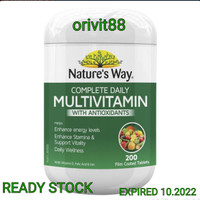 NATURE'S WAY MULTIVITAMIN WITH ANTIOXIDANTS 200 TABLET