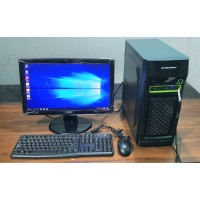PC KOMPLIT SIAP PAKAI MOBO ASUS - RAM 4 GB - LAYAR 19 INCH - 500 GB