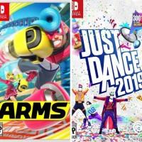 Game Digital Nintendo Switch Arms + Just Dance 2019 Rizkishop498