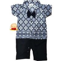 Romper Batik Bayi Keren Baju Batik Bayi Laki Laki Ozuka